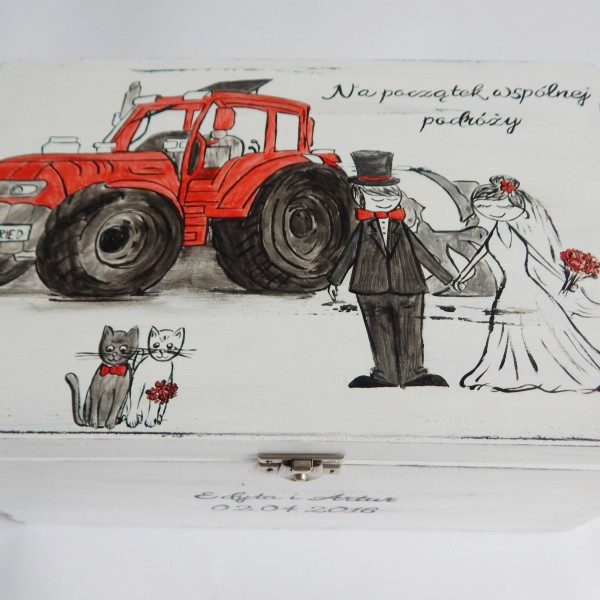 Para na traktorze