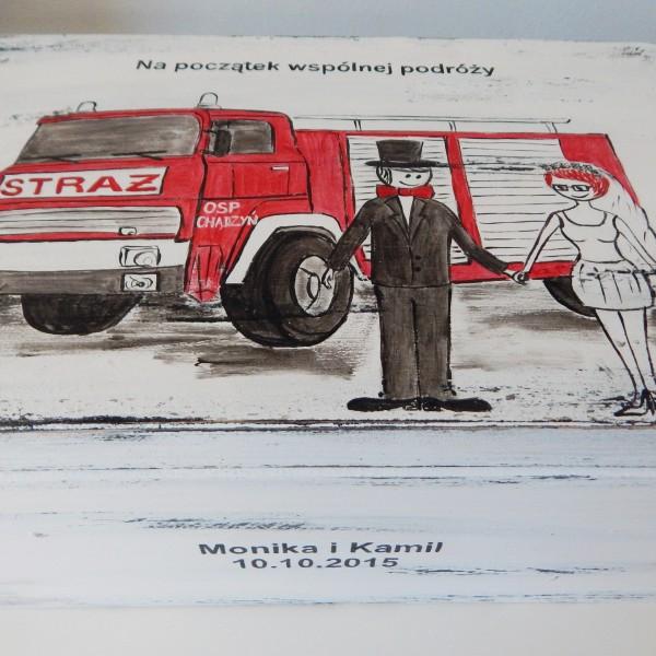 Ślub strażaka