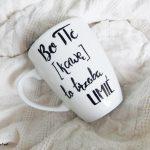 kubek bo pić kawę to trzeba umić