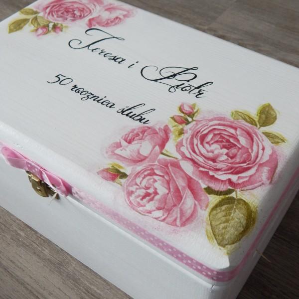 Różany zestaw na rocznicę