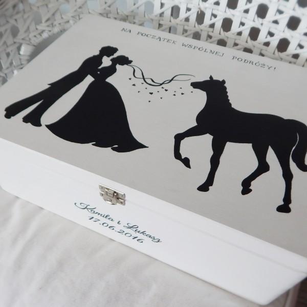 Para cienie z koniem