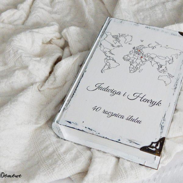 Książka szkatułka na rocznicę ślubu